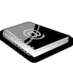 read, reading, address, book icon