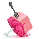 Cube, Meat icon