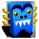 creature, blue icon