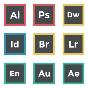 Adobe icon sets preview