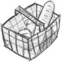 shopping cart, webshop, basket, full, ecommerce, buy, shopping, cart, commerce icon