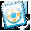 stamp, postage, designfloat icon