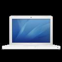 white, macbook icon