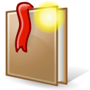 new, bookmark icon