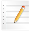 paper, writing, file, write, edit, document icon