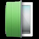 iPad White green cover icon