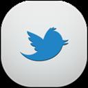 Flat, Round, Twitter icon