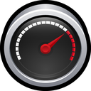 device, widget, test, speedometer icon