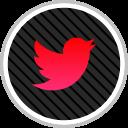 online, twitter, media, social icon