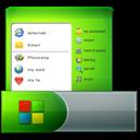 , Menu, Start, Taskbar icon
