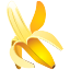 tropical, banana, fruit, ingredient icon
