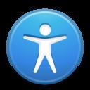 preferences desktop accessibility icon