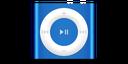 apple, product, deep, blue, ipod, shuffle icon