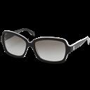 Black, Chanel, Glasses icon