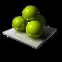Green Spheres icon