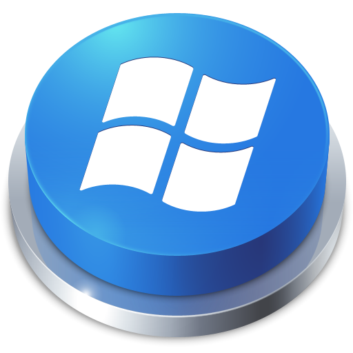 button, perspective, window icon