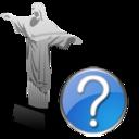 cristoredentor,help icon