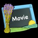 video, movie, film icon