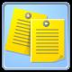 publication, notice, board icon