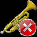 Close, Trumpet icon