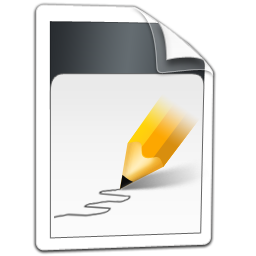 file, text, document icon