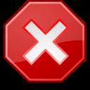 stop, process icon