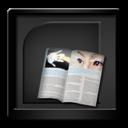 Black, Microsoft, Publisher icon