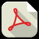 Apps pdf file icon