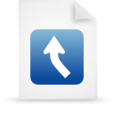 paper, blue, file, document icon