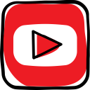 social, social media, youtube, network, communication, web, media icon