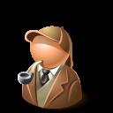 holmes,detective icon