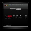 Black, Downloader, Youtube icon