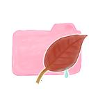 folder, candy, ak, leaf icon
