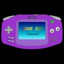 Gameboy Advance purple icon