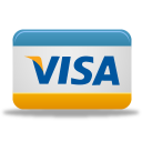 pay, visa, credit card, card, payment icon