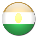 flag, country, niger icon