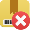 delete, package icon
