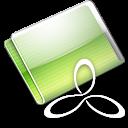 Folder RAD E8 lime icon