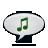 Audio, Notification icon
