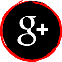 social, media, plus, google, logo icon