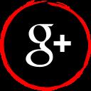 social, media, plus, google, logo icon