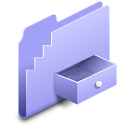 box, drop, alt, folder icon