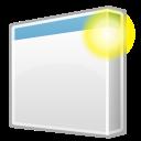 window, new icon