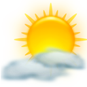 sun, climate, kweather, weather icon