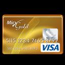 Gold, Visa icon