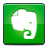 social, evernote icon