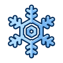 snowflake, cold, winter, snow, christmas, ice icon