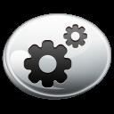 silver, configuration icon