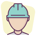 construction, worker, account, builder, manager, professional, profile icon