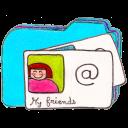 osd folder b contacts icon